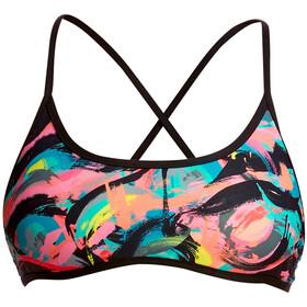 Funkita Cross Back Tie - Bikini Femme - Multicolore